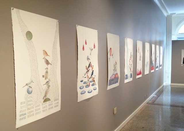 Aucocisco Galleries, Installation Shot