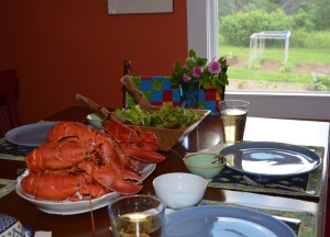 Lobster Dinner, Photo Rick Chalmers