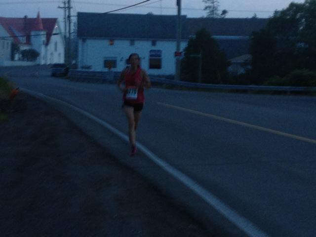 One mile to go, photo Shoshannah White