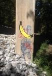 banana graffiti