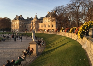 I discovered a great little running loop around the Jardin du Luxembourg